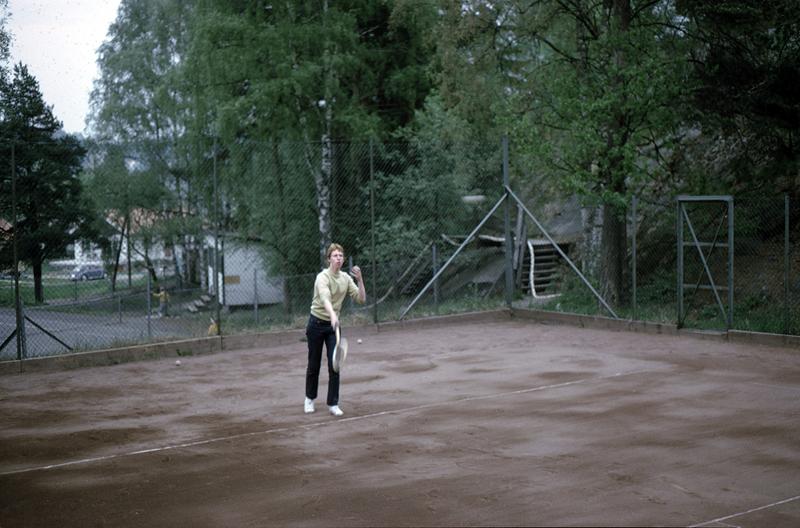 Tennisbanan 1969