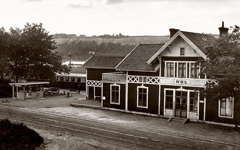 Stationen 1951.