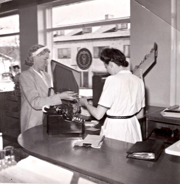 Posten 1951.