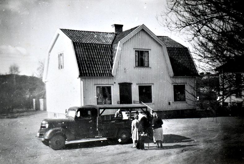 Fiskbilen vid Rombergs.