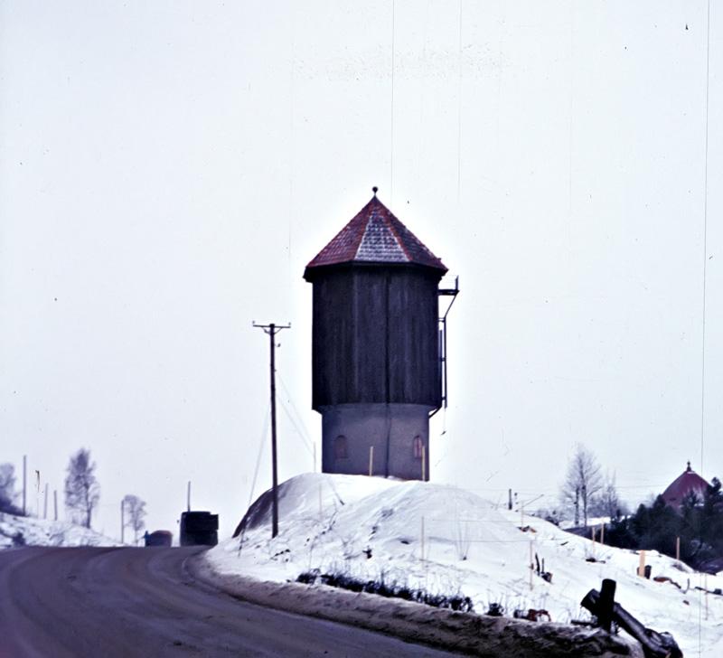 Vattentornet.