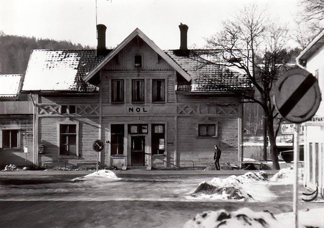 Nols tågstation
