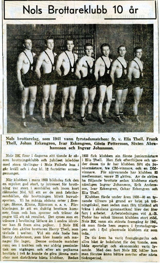 Nols BK 1943.