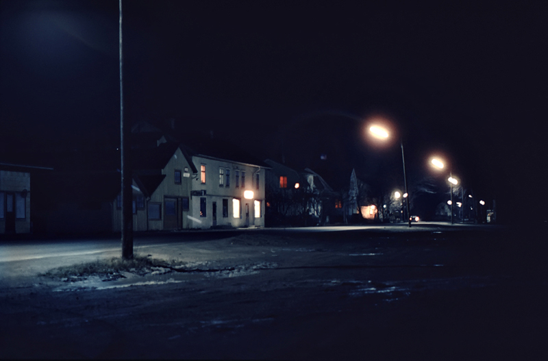 På natten 1969.