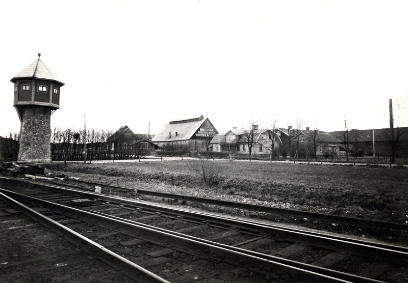 Norra Vattentornet samt Glasbruket.